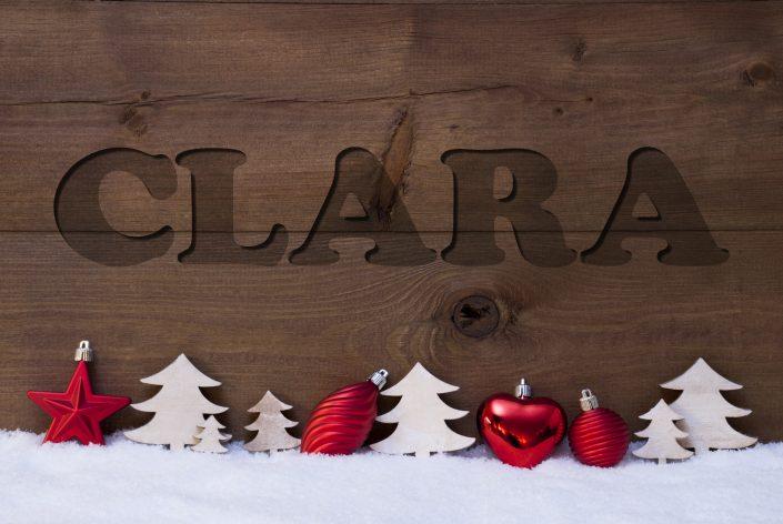 ChristmasWood02 Clara