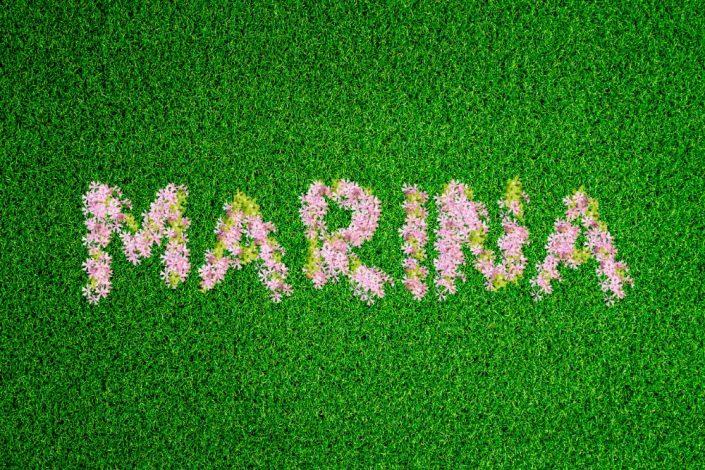 FlowerGrassPink Marina